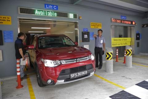 تکنولوژی پارک خودکار خودروها