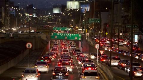 مکزیکیها در ترافیک