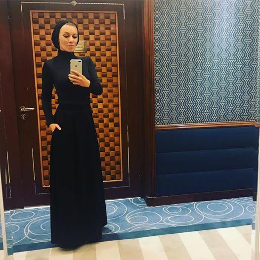 حجاب خانم سخنگو در سفر به عربستان