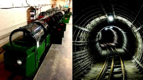 تونلهای زیرزمینی انتقال نامه در لندن