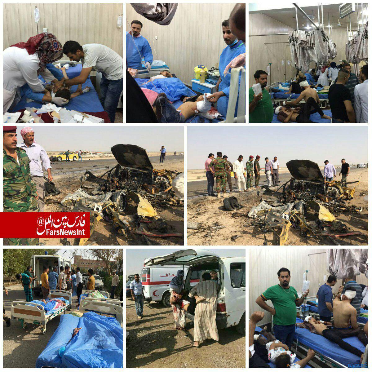 جزییات انفجار امروز شهر ناصریه
