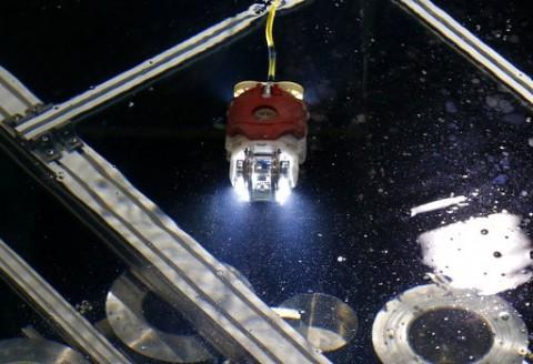 رباتی که راکتور ژاپن را کاوش میکند