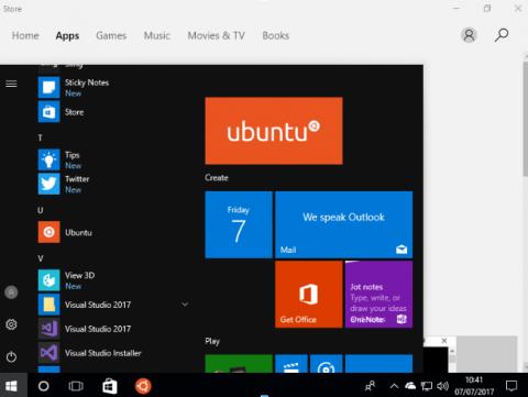 نصب سیستم عامل ابونتو با ویندوز 10