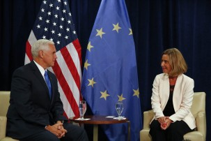 The Europeans are eager to preserve the nuclear deal amid Washington's negative positions