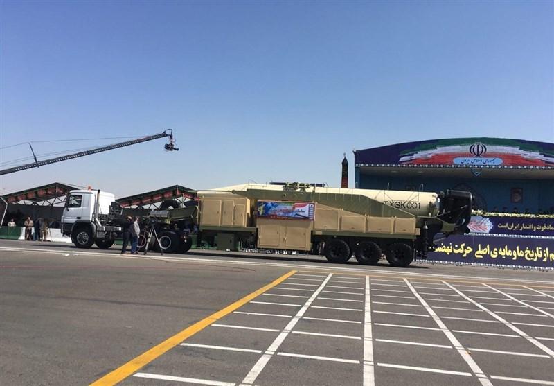 جدیدترین موشک بالستیک ایران رونمایی شد