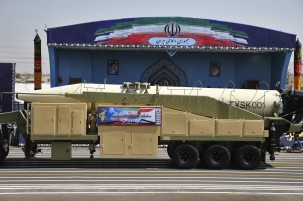 Iran unveils latest missile during parade