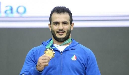 سهراب ایرانی رکورد جهان را شکست و طلا گرفت
