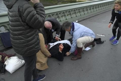 تصاویری از حمله تروریستی لندن
