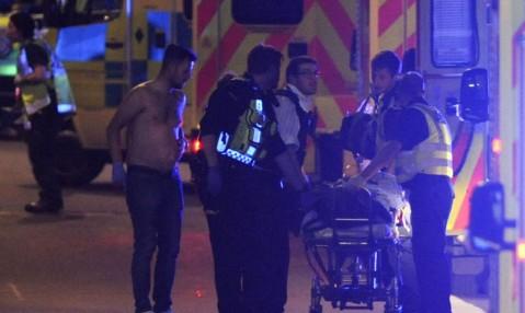 تصاویر تازه از حمله تروریستی لندن