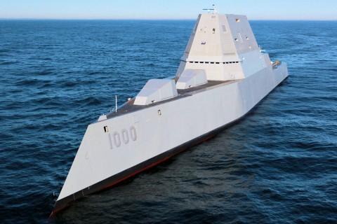 بررسی ناوشکن یواساس زاموالت