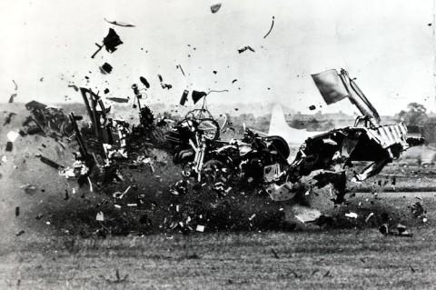 تراژدی نمایش هوایی فارنبورو