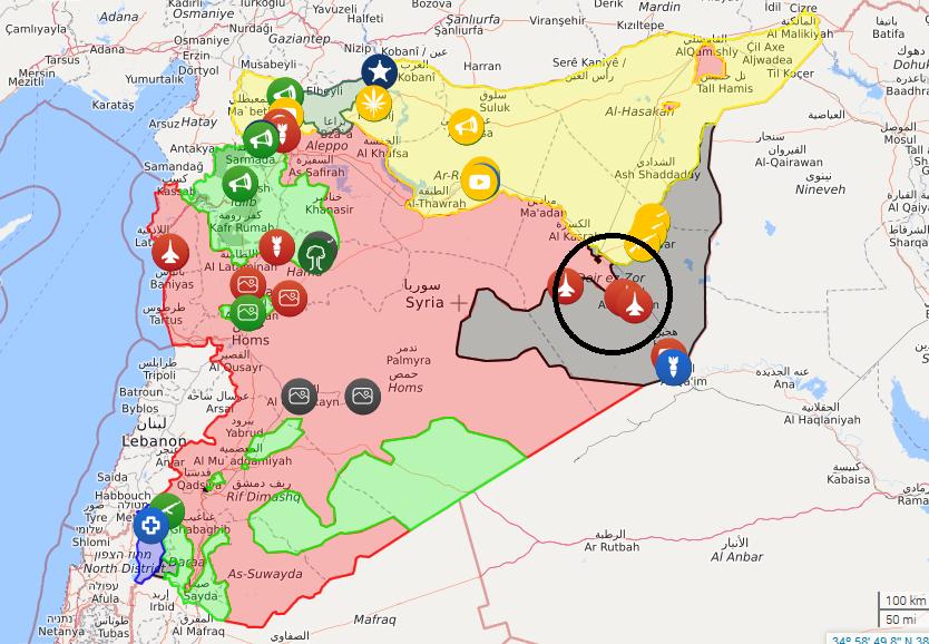 تسلط ارتش سوریه بر ۱۲۰۰۰ کیلومتر مربع از مرزهای سوریه-اردن/ آمادگی 5 هزار نفر نیروی داوطلب ترکیه برای حمله به اقلیم کردستان/نابودی کامل مرکز فرماندهی داعش در دیرالزور/ارزیابی روسیه از اقدام احتمالی آمریکا علیه سپاه