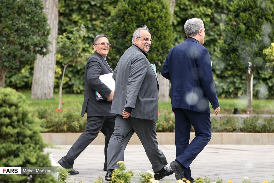 مسعود کرباسیان و سیف در راه واشنگتن