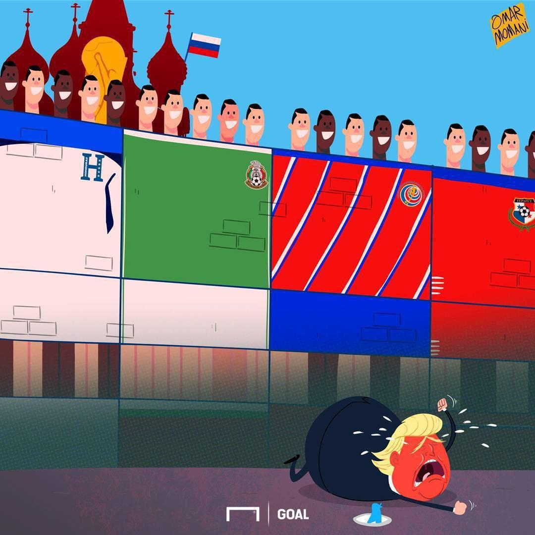 گریه ترامپ بخاطرحذف آمریکا درمقدماتی جام جهانی