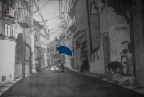انیمیشن کوتاه تعطیلات بارانی