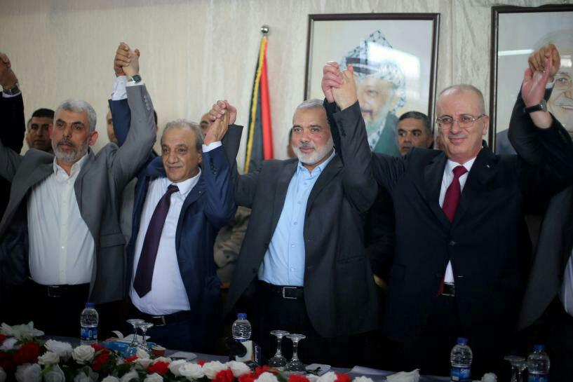 توافق صلح جنبشهای فلسطینی فتح و حماس
