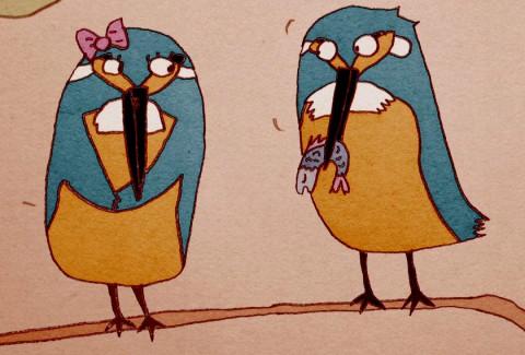 انیمیشن کوتاه ماهی خورک