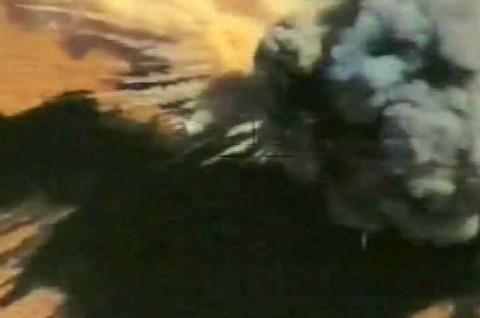 تصاویر حملات تازه پهپادهای ایران