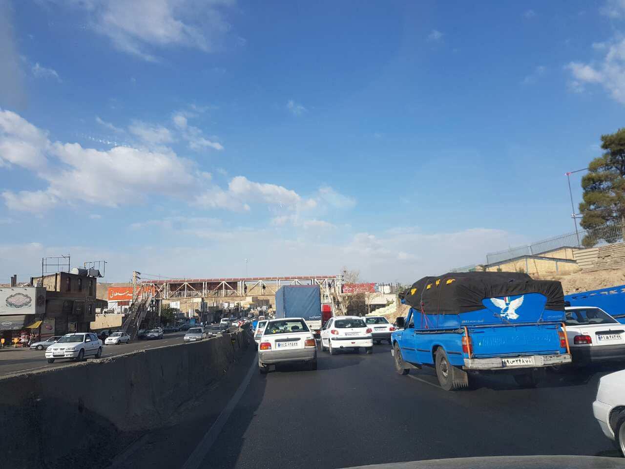مشکل ترافیک در بومهن