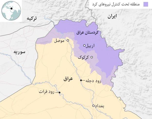 نیروی مسلح،سیاست، جغرافیا، پیشینه استقلال طلبی، درگیری های داخلی و معضلات اقلیم کردستان را بهتر بشناسیم!