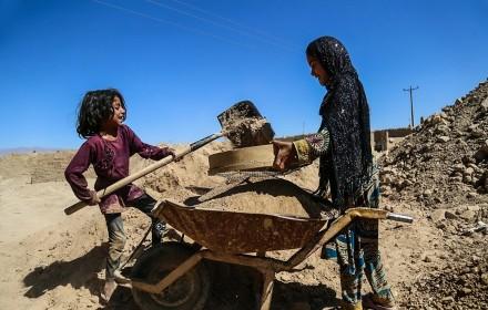 کارگران کوره های آجر پزی