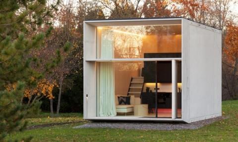 خانهای کوچک اما قابل جابهجایی