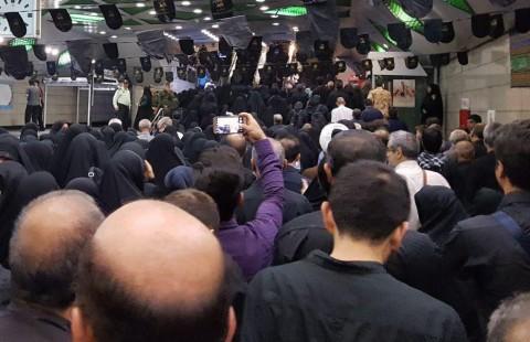 همنوایی برای حججی در مترو