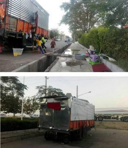 زندگی تراژیک 9 نفره در اتاقک کامیون
