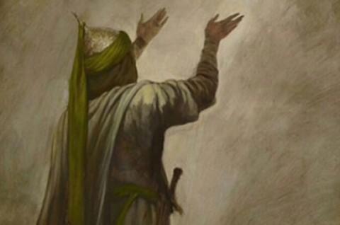 گفتگوی شبانه حسین (ع) و زینب (س)