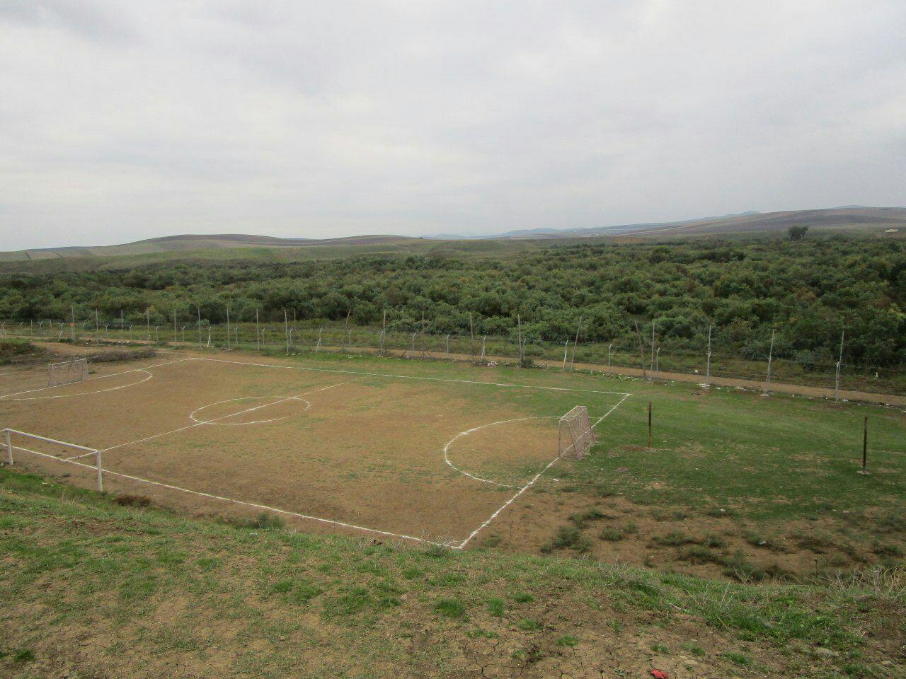نزدیکترین زمین فوتبال به مرز یک کشور در ایران