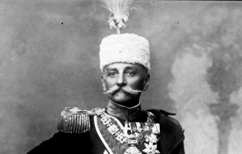مراسم خاکسپاری پتر اول صربستان