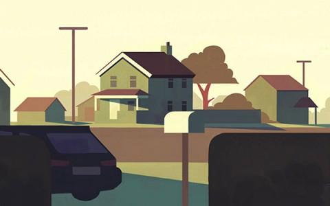 انیمیشن کوتاه هیولای در تاریکی