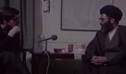 نحوه برخورد حضرت آیتالله خامنهای با جاسوسان آمریکایی که در لانه جاسوسی بازداشت شده بودند