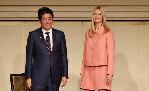 حاشیه های سفر دختر ترامپ به ژاپن