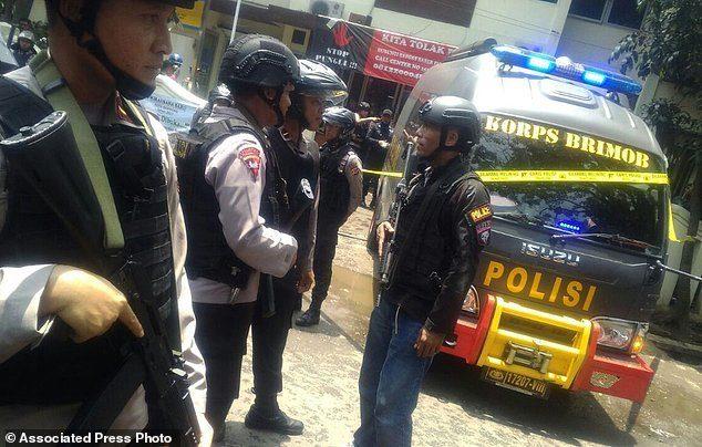 خطر از بیخ گوش دختر رئیسجمهور اندونزی گذشت
