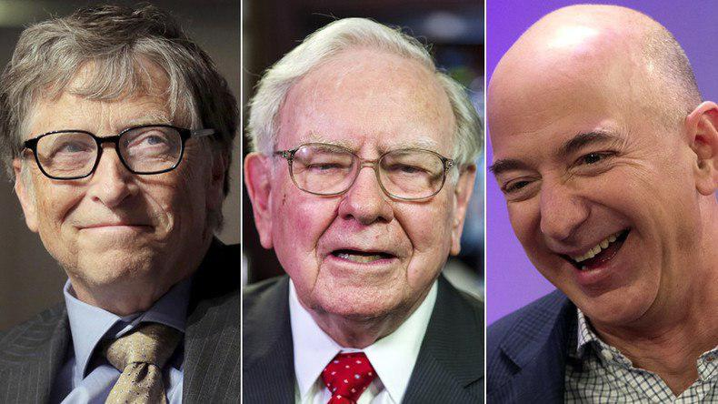 ثروت ۱۶۰ میلیون آمریکایی در جیب سه نفر