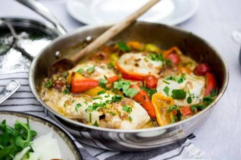 طرز تهیه خورشت ماهی برزیلی