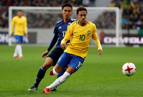 گزیده بازی برزیل - ژاپن