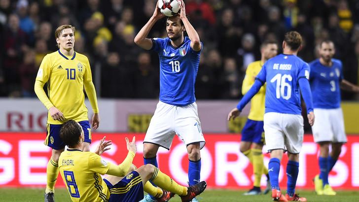 ایتالیا به سوئد باخت/90دقیقه تاحذف ازجام جهانی