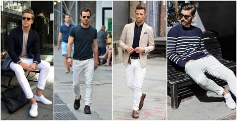 شلوار جین سفید را با چه بپوشیم؟