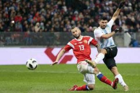 گزیده بازی روسیه - آرژانتین