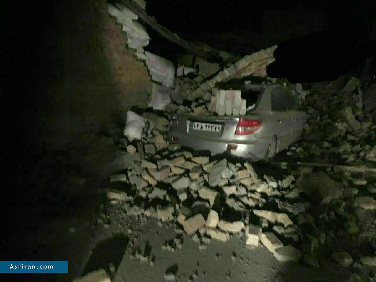 اولین تصاویر از خسارات زلزله