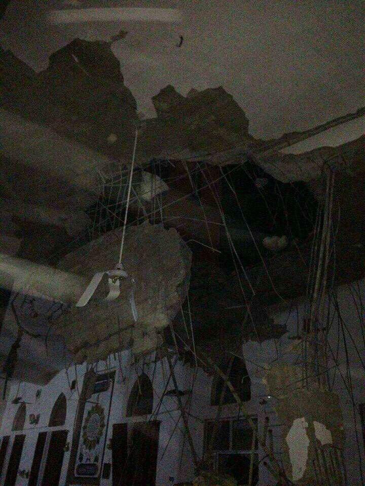 فرو ریختن مناره مسجد ابوحفصه در خانقین