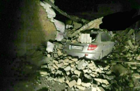 تصاویر لحظات حساس زلزله کرمانشاه