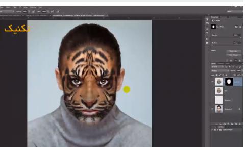 تکنیک تبدیل تصویر به یک حیوان