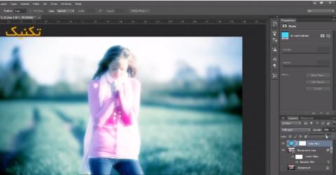 آموزش ایجاد افکت رویایی تصاویر