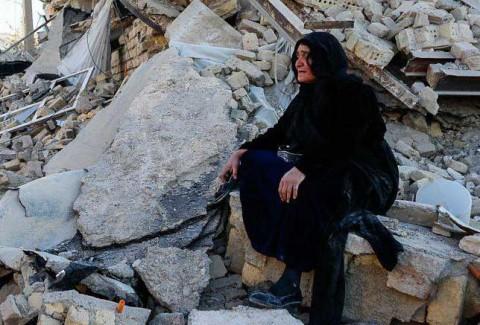 روز اول امداد رسانی زلزله کرمانشاه