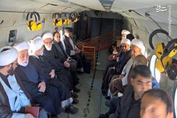 اعزام هیئت ویژه از سوی رهبر انقلاب به کرمانشاه/عکس