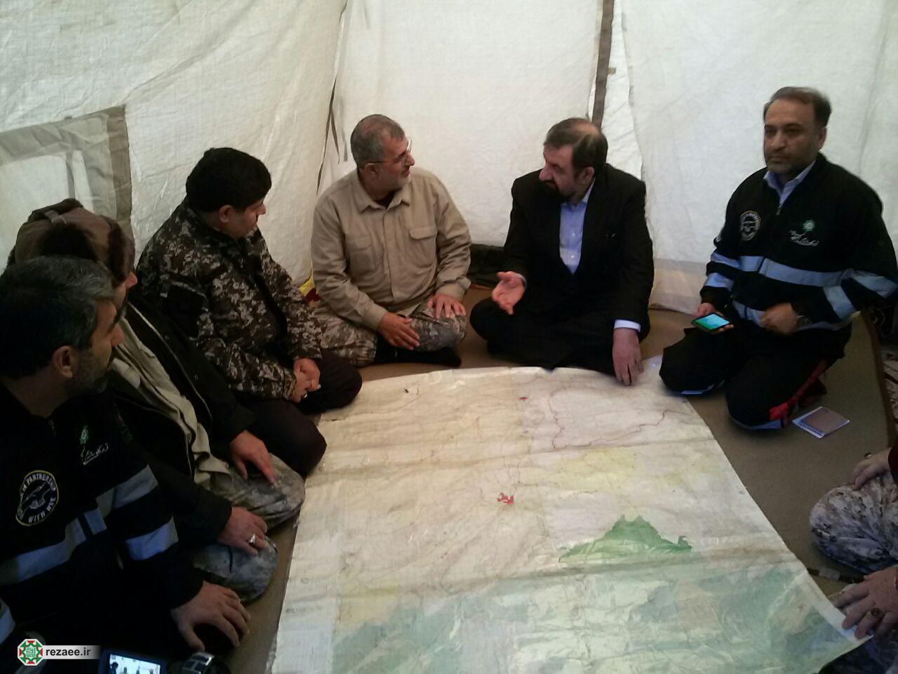 بازدید رضایی از مناطق زلزله زده سرپل ذهاب
