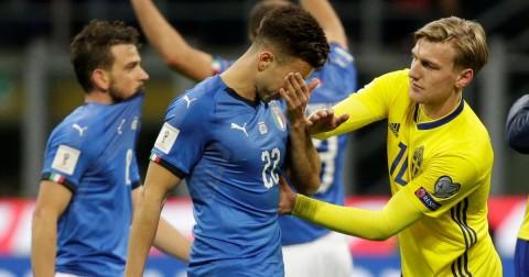 گزیده بازی سوئد - ایتالیا